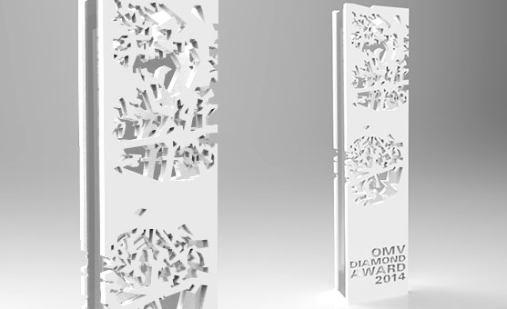 Eremit Display für OMV Diamond Award 2014
