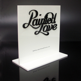 Eremit Display Markenaufsteller für Painted Love