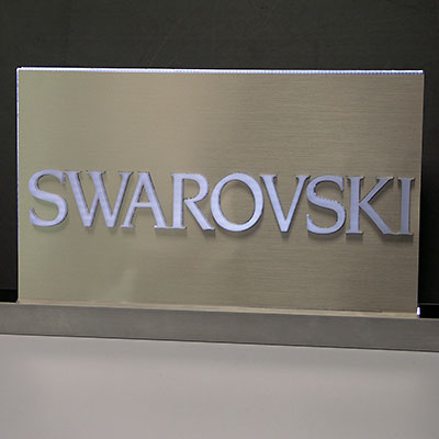 Eremit Display LED Schild für Svarovski