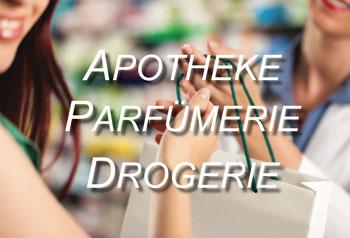 Apotheke, Parfümerie, Drogerie