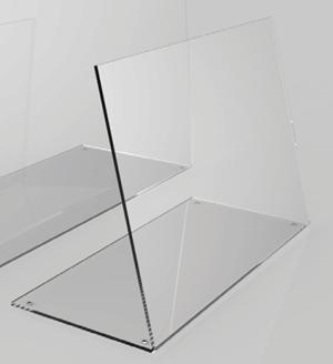 Hygieneschutz aus Acrylglas